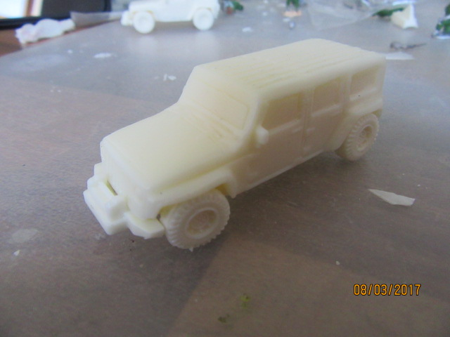 1/72 Jeep Wangler Long Wheel Base
